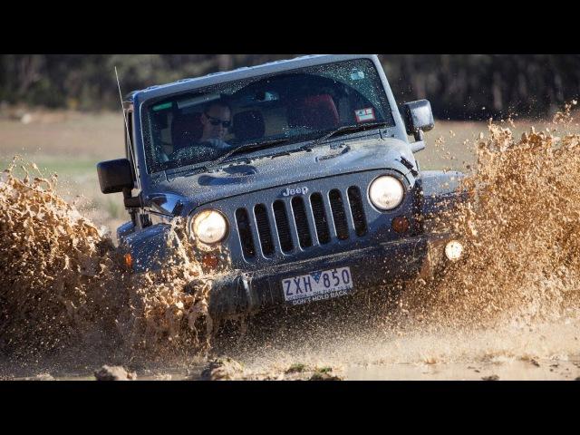Тест-драйв Jeep Wrangler Rubicon по грязи