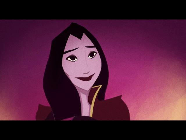 Мультик про влюблённую ведьму