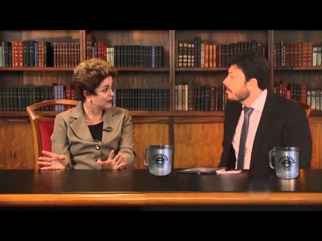 I N T E G R A - Danilo Gentili entrevista Sr. Presidente Dilma