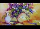 Вышивка лентами Картины цветы роза Мастер класс