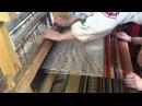 Как работает ткацкий станок демонстрация