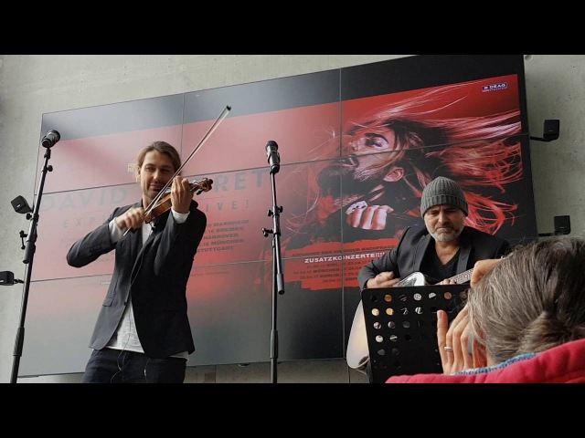 David Garrett and Marcus Wolf live in Offenburg 2016