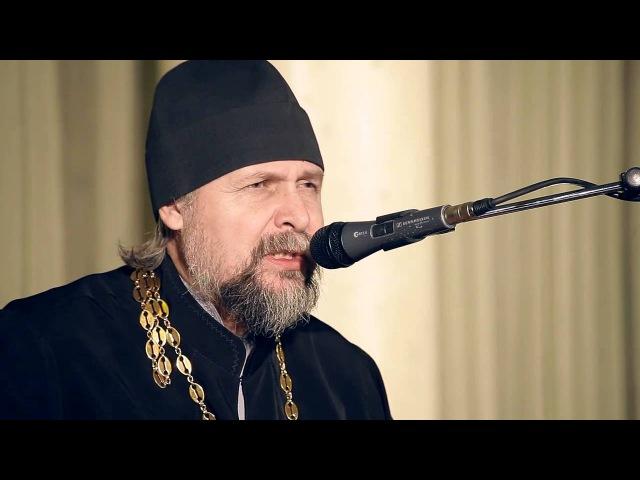 о.Андрей Гуров концерт в Александро-Невской Лавре СПб 120215 ч1