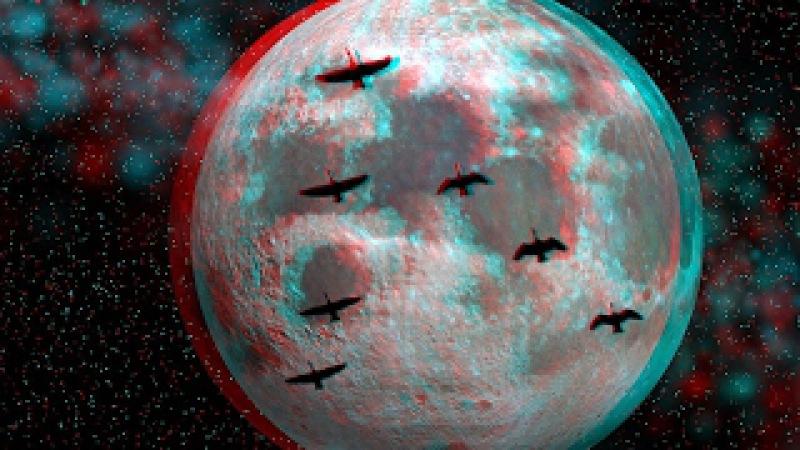 С купола Плоской Земли свалилась очередная бутафорская Луна на территорию Китая