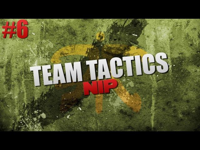 Team Tactics CS:GO | NiP: A-plant split takeover @ de_overpass 6