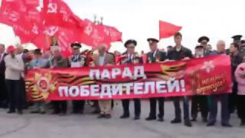 Побратимы фашистов.Украинский губернатор-Гитлер освободитель !День Победы.Херс...