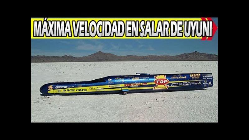Rompen Records Mundiales de Velocidad en Salar de Uyuni 3600