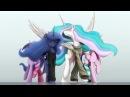 MLP: Princess Celestia and Luna