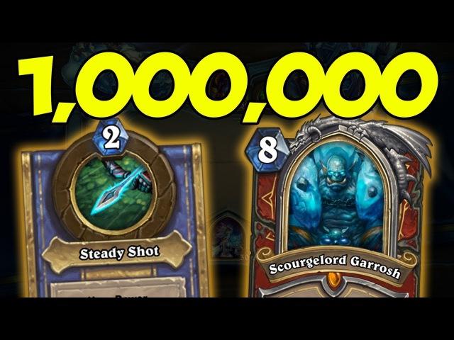 [Hearthstone] ONE MILLION DAMAGE HERO POWER EXPLOIT?! | Knights of The Frozen Throne
