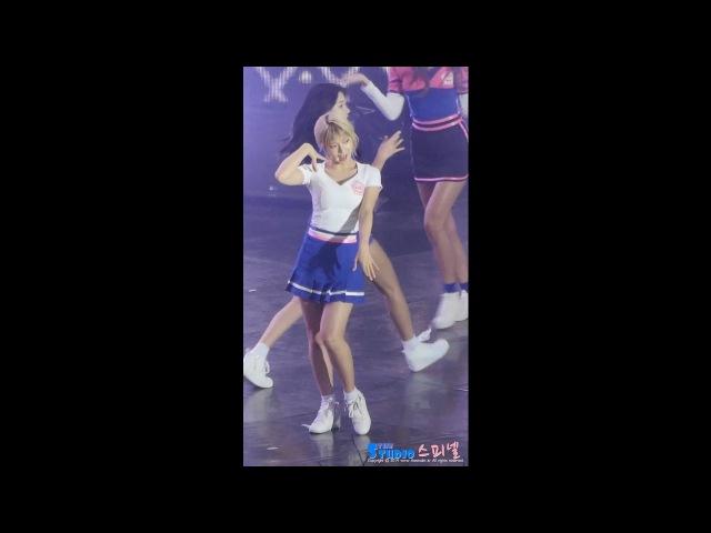 160930 영동대로 뮤직뱅크 AOA 초아 (Choa) 직캠 심쿵해 Heart Attack by Spinel
