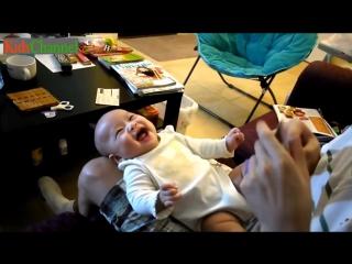 Детский смех - самый заразительный!