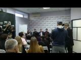 пресс конференция на тему