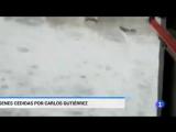 Сильные дожди и град,вчера на северо-востоке Испании - RTVE.es
