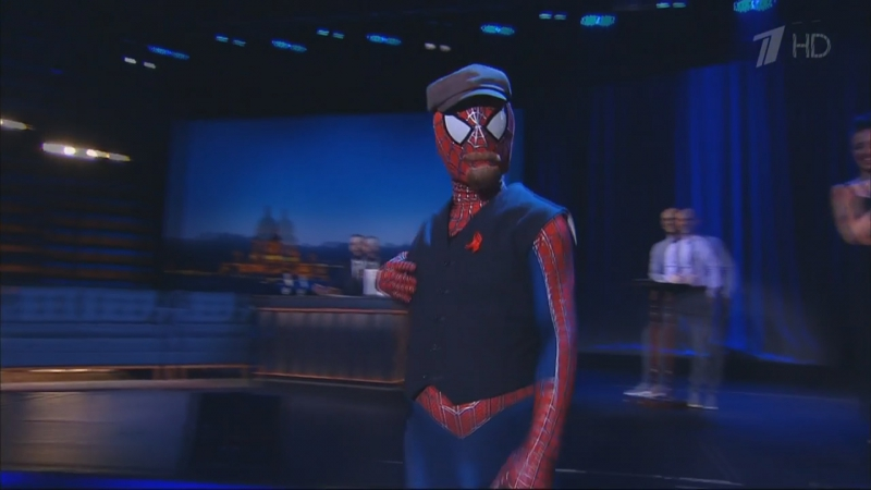 Новый Человек-паук в передаче Вечерний Ургант