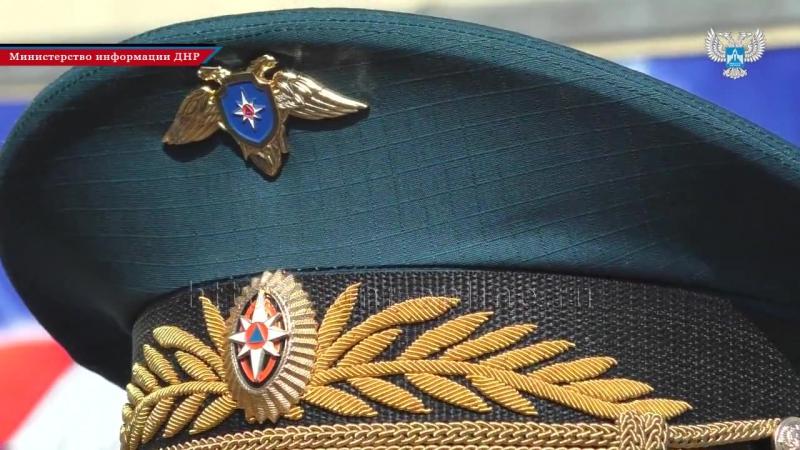 В Енакиево прошли третьи Республиканские соревнования МЧС ДНР по пожарно-спасате