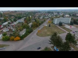 Мальовничий Ружин з висоти-2016
