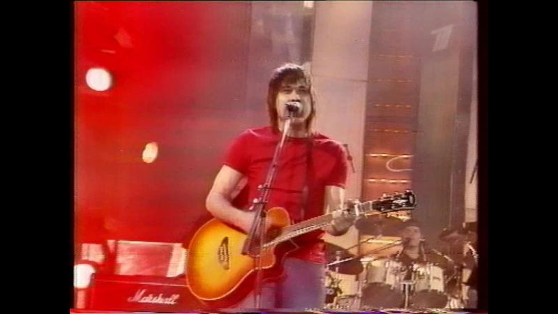 Золотой Граммофон - 2001 (ОРТ, 21.12.2001) Сплин - Мое сердце остановилось