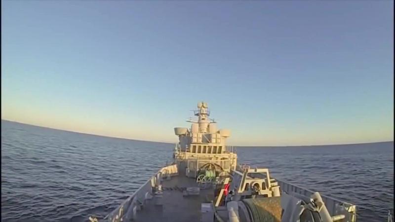 Kongsberg системы обороны - Naval Strike Missile (NSM) Anti-Ship Живая розжига [720p]