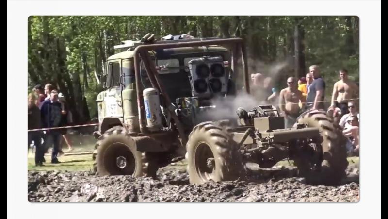 ШИШИГА и др грузовики по уши в гамне