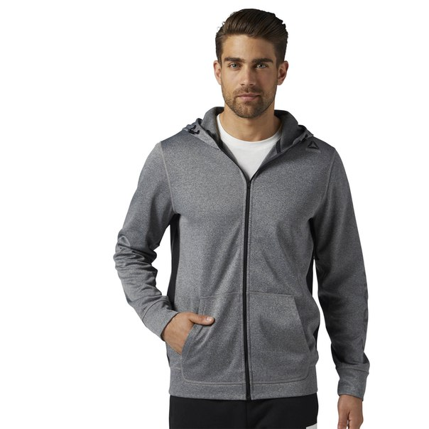 Худи Workout Ready Graphic Full Zip Fleece