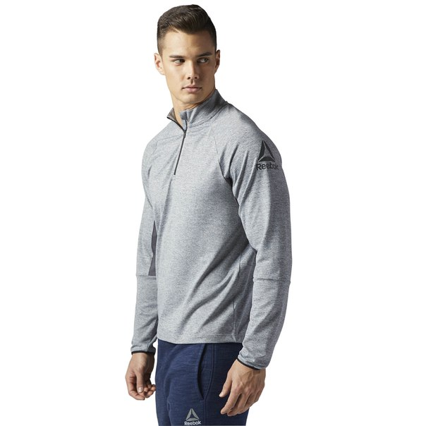 Пуловер Running Long Sleeve Quarter Zip