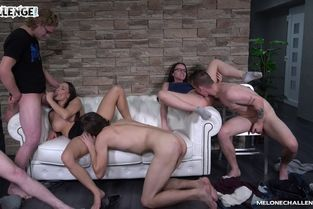 MeloneChallenge – Orgy Try-Out 2