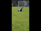 Любительский футбол.