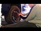 Снятие передних дисков Renault Clio Symbol