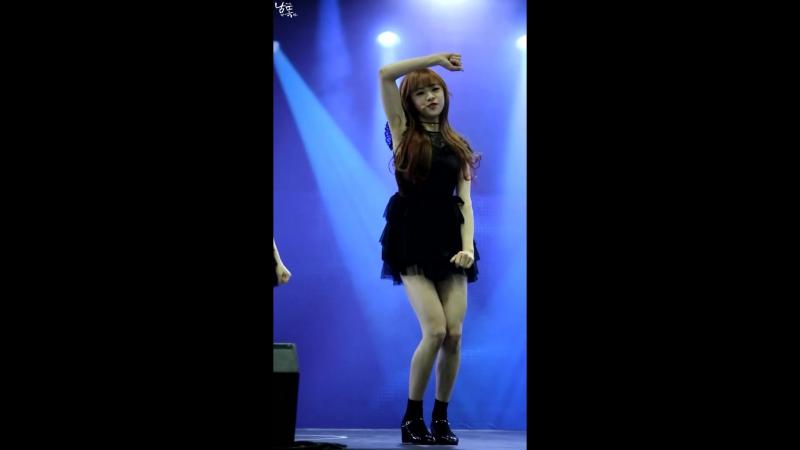 160104 Infinity Challenge Expo  OH MY GIRL - Cupid [Jine focus]