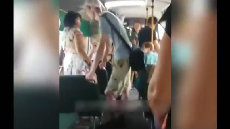 Залип в автобусе