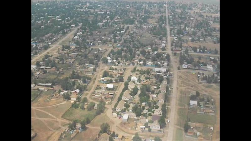 Калмыкия, Приютное. Полёт над Приютным с высоты птичьего полёта 18.05.2013