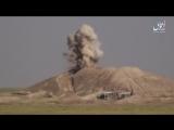 Подрыв ополченцев на бомбе у Таль Банат к юго-западу от Тель Афара