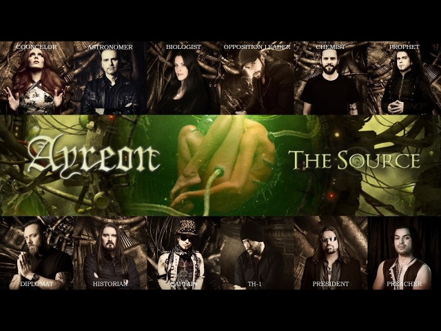 Ayreon The Source Album Lyric Video