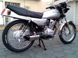 Honda cgl 125cc. Exhaust Yoshimura TRC Gascon