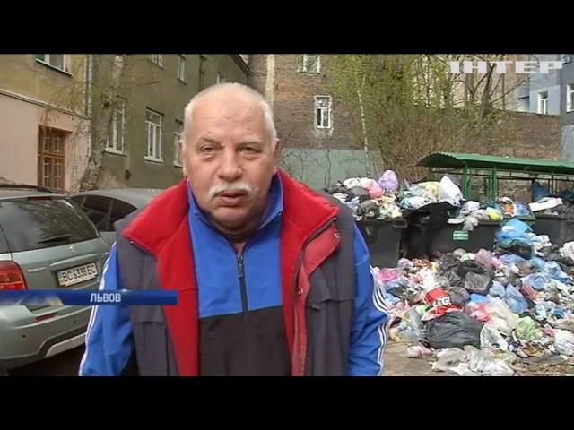 Мусор Львова грозит жителям эпидемией