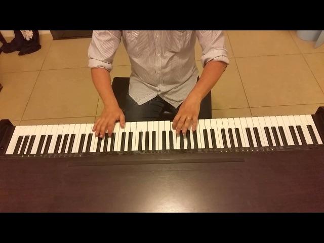 Алла Пугачёва на пианино Айсберг (А ты такой холодный, как айсберг в оекане) пианино кавер