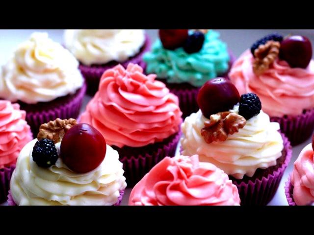 Простой рецепт очень вкусных капкейков и все секреты украшения красивых кексов