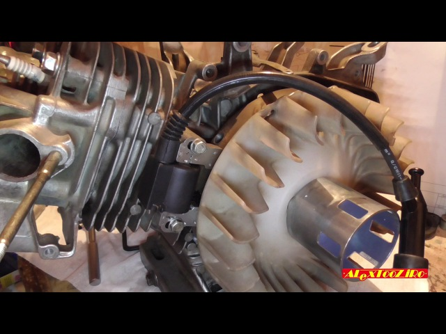 Сборка двигателя 188F GX390 Первый запуск