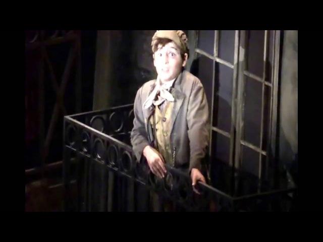 Joshua Colley as Gavroche Broadway 2014