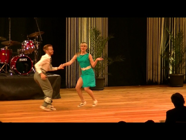 1st Place Boogie Woogie Fast Final Sondre and Tanya