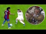 Как Роналдиньо унижал Реал Мадрид
