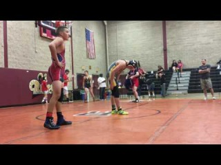 132lbs - Zach Mathes - BWC - STCC Tournament - Match 3 - 8-6-17