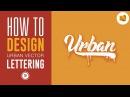 Vector Urban Lettering Text Effect Tutorial - Illustrator Tutorial