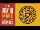 USING CUSTOM ILLUSTRATOR BRUSHES TO MAKE COOL VECTOR ART - Satori Graphics Illustrator Tutorial