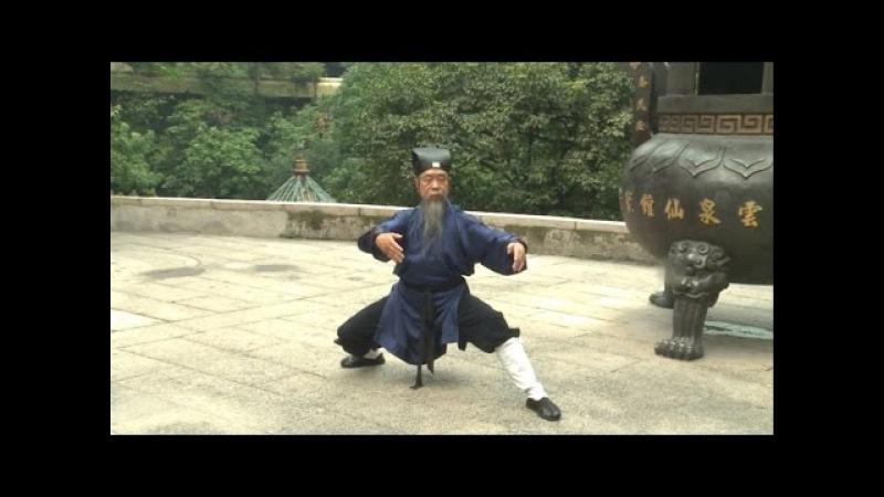 Вторая большая форма Тайцзицюань Школы Драконовых Врат. Даосский наставник Ли Ф...