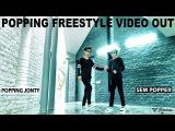 INDIAN HIP HOP CHAMPIONSHIP JONTY &amp SAM FREESTYLE POPPING DANCE TOYBOI SONG