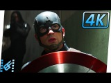 Arriving To The Siberian Hydra Facility  Captain America Civil War (2016) Movie Clip