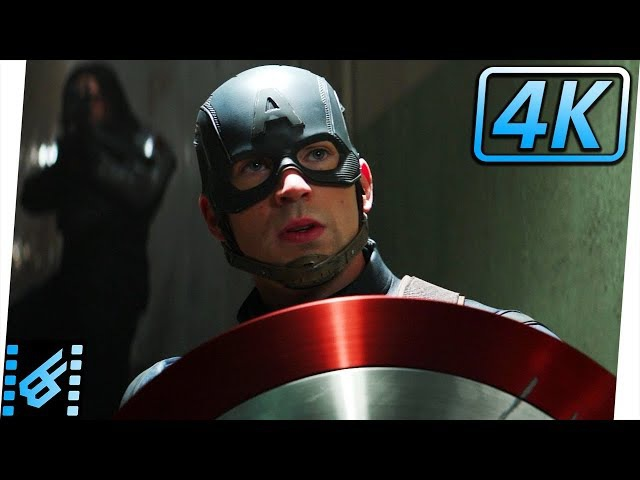 Arriving To The Siberian Hydra Facility | Captain America Civil War (2016) Movie Clip