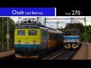 Vlaky Osek nad Bečvou 11 7 2017