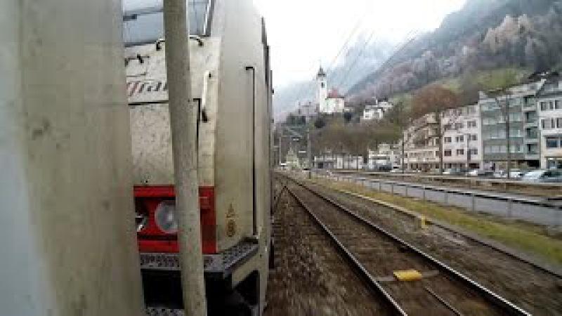 GoTrain: Crossrail BR 186 auf der Gotthardbahn
